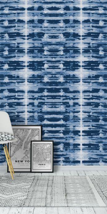 X-Ray Shibori Stripes Wall Mural / Wallpaper Surface