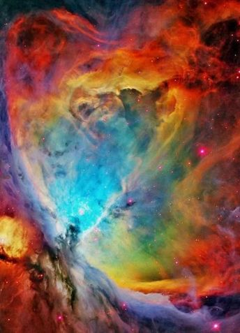 ORION NEBULA,base on earth, like all the stars including our sun, so guess who you are talking too!!!!