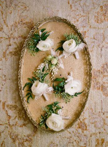 Summer & Spanish Moss - Elegant Wedding Inspiration in Dusky Greens