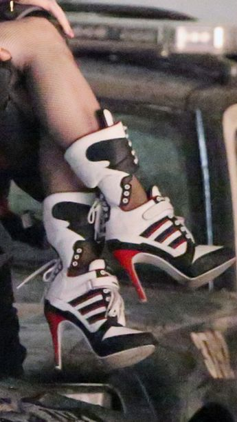 huge selection of c724e 35b6c Shoes. Fashion. Harley Quinn. Suicide Squad. Margot Robbie.