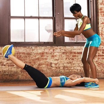 This At-Home Partner Workout Is No Joke