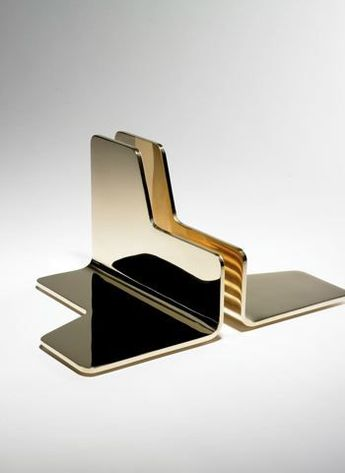 Bronze Bookends by Jonathan Nesci