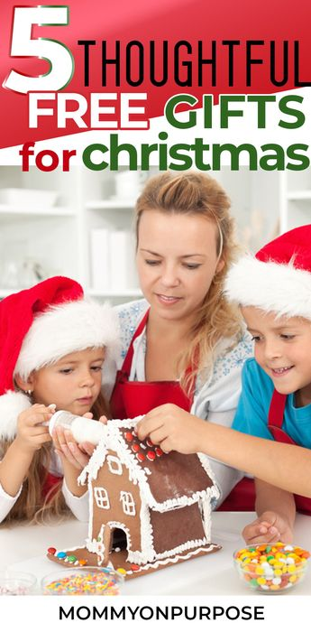 give the gifts  of intentional living and a frugal lifestyle to your children on christmas . Your kids will love these beautiful acts of devotion.