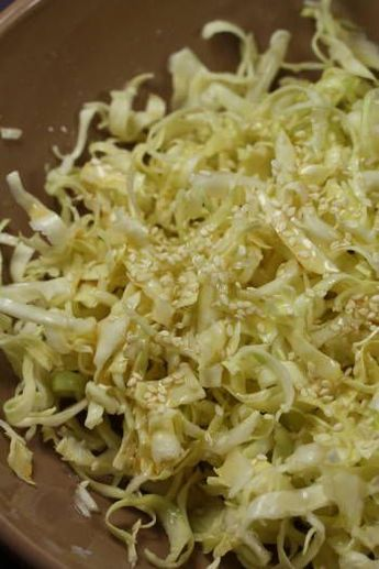 Salade de chou comme au restaurant Japonais