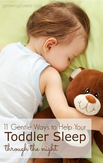 I know you're exhausted, and you probably feel like you've tried everything, but don't give up Mama! Try these these 11 gentle tips to help your toddler sleep through the night, at last!