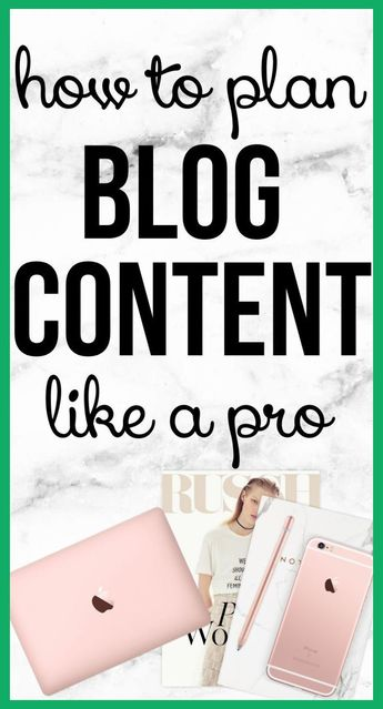 Content Planning 101: How to create Blog/Social media content | Blog Marketing |  Blog Ideas ...