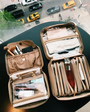 PurseN Lexi Travel Organizer - & Tiffany Travel Case - White Dunes