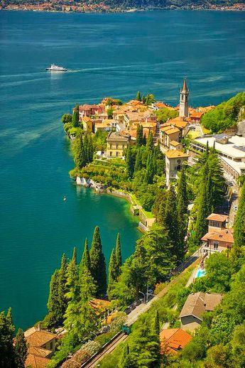 Lago di Como. Italia