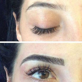 Avant / après : les transformations des sourcils les plus extraordinaires