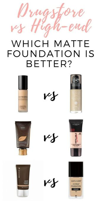 Are High-End Foundations Better Than Drugstore Foundations