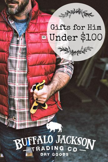 Looking for Christmas gift ideas for him under 100 dollars? Check out our 2018 Under $100 Holiday Gift Guide for men. All the best men's gift ideas for husbands, dads, boyfriends, and sons — all incredibly within your budget! #giftguide #giftguides #giftsforhim #mensguides #honoryourwild