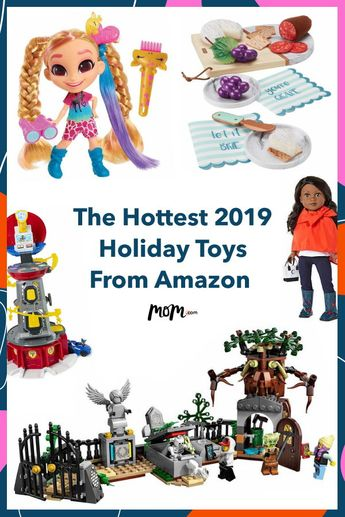 The Hottest 2019 Holiday Toys From Amazon: With the holiday season comes gifts for the kiddos. Thankfully, Amazon has parents' backs by releasing its top 100 toy list for 2019. Here are some of the hottest toys on the list. #holiday #gifts #toys #holidaytoys
