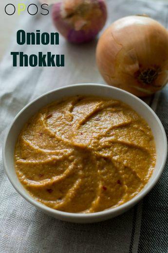 Onion Thokku - Vengaya Thokku