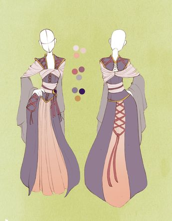 :: Commission Outfit April 04 :: by VioletKy on deviantART