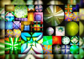 RUNA kunst:  Kugel - Kaleidoskope / Foto - Digital, Collage RZ...