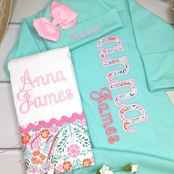 b42905427d55 Baby Girl Coming Home Outfit Baby Girl Clothes Coming Home