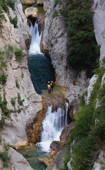 Gorge of Galamus, Pyrenees-Orientales, France   by Rainer Gütgemann #FranceTravels