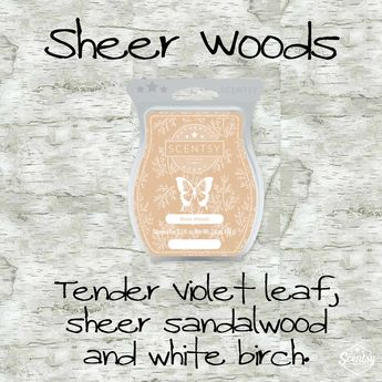 Scentsy Spring/Summer 2017 New Release Sheer Woods