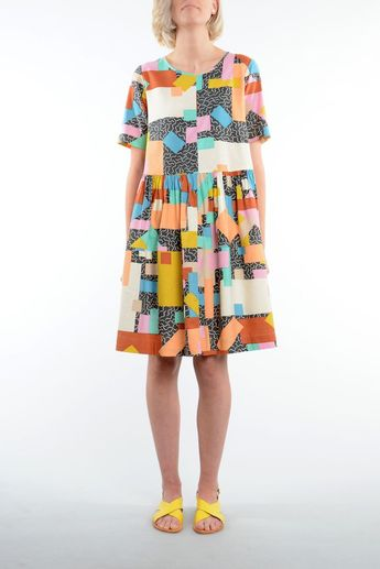 Blocks Smock. #pattern #design #textiledesign #fashion