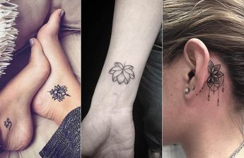 List Of Attractive Small Tattoos With Meaning On Wrist Quote Lotus