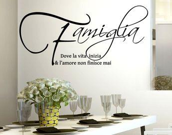 List Of Pinterest Scritte Sui Muri Di Casa In Italiano
