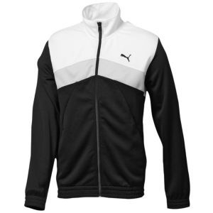 PUMA Mesh Track Jacket - Men's - Sport Inspired - Clothing - Black