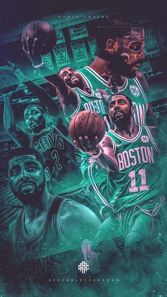 NBA Art | Kyrie Irving (Celtics/Cavaliers) Wallpaper on Behance