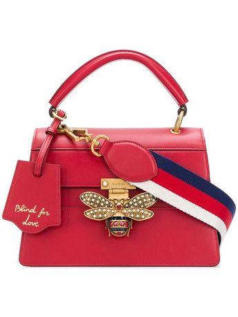 906ff937d67d Gucci bee embellished shoulder bag