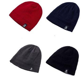 7f742d5147c Hair Knit Hat-Women Men Knit Wool Beanie - Winter Hats Real Raccoon Fur Pom