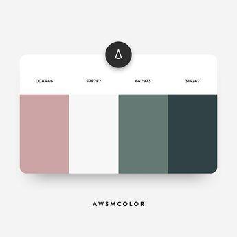 Combinaison de couleurs pour siteweb 2019