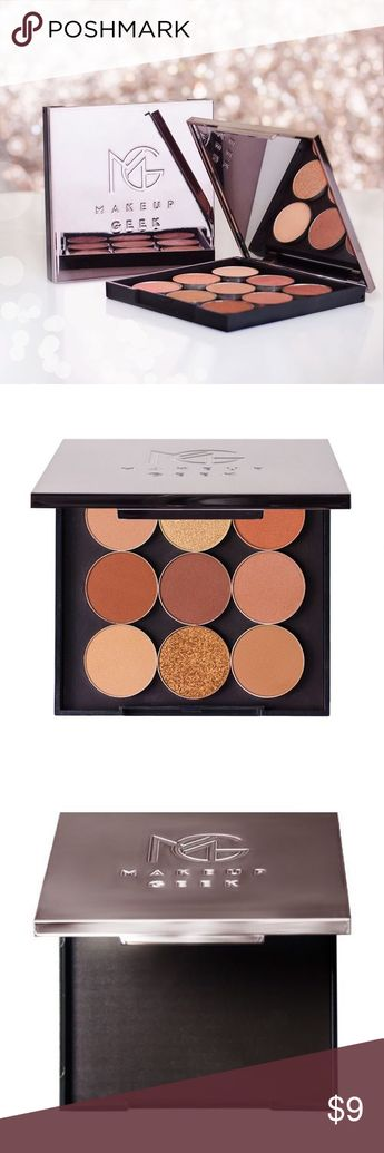 Makeup Geek Travel Vault Palette 💄 Gently used 💄Shadows not included makeup geek Other
