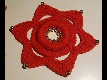 Easy To Crochet Beautiful Snowflake