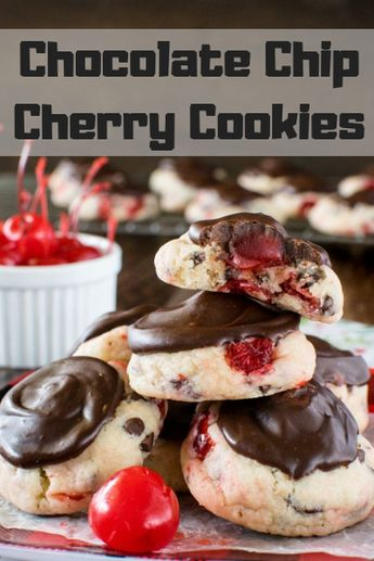 Chocolate Chip Cherry Cookies recipe - womens must haves