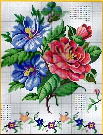 Fleurs #cross stitch #Afs 5/5/13