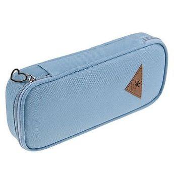 Gift Pencil Case Cosmetic Bag Canvas Pen Bag Travel Makeup Bags Zipper Pouch   eBay