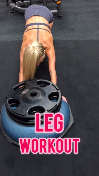 Sculpt your glutes and quads with this gym day workout. This workout uses dumbbells, bosu ball, cable machines to get a killer workout. Tighten and tone your lower body. * all exercises speed up *