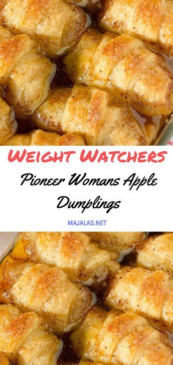 Pioneer Woman's Apple Dumplings // #weightwatchers #weight_watchers #Apple #Dumplings #recipes #smartpoints