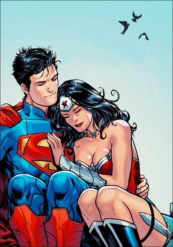 Superman Loves Wonder Woman