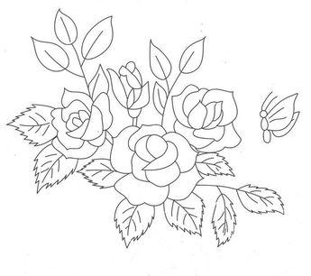25 Contoh Sketsa Gambar Bunga Yang Mudah Digambar 16
