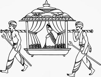 indian doli clip art