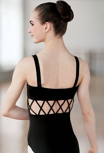 f5b58e9a3 Intricate Strappy-Back Leotard | Balera™ periwinkle mc