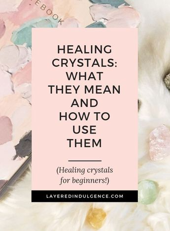 6 must have healing crystals for beginners. Tips for how to choose and how to use crystals. From making jewelry to using crystals for meditation, these are the essential stones everyone needs.