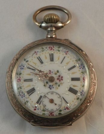 704378da780c Lady's Pocket Watch 800 German Silver Sale! Up to 75% OFF! Shop at