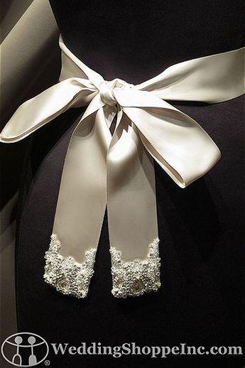 Saison Blanche Bridal Belts and Sashes BLT003