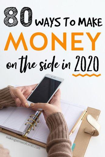 80 WAYS TO MAKE MONEY IN 2020
