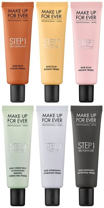 Make Up For Ever Launches Step 1 Skin Equalizer