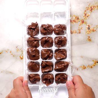 Onde Onde Nutella | Yummy - Temukan resep -resep menarik lainnya hanya di:  Instagram: @Yummy.IDN  Facebook: Yummy Indonesia #ondeonde #jajananpasar #indonesianfood
