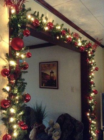 Kitchen entrance garland | christmas | Christmas, Christmas decorations, Christmas deco