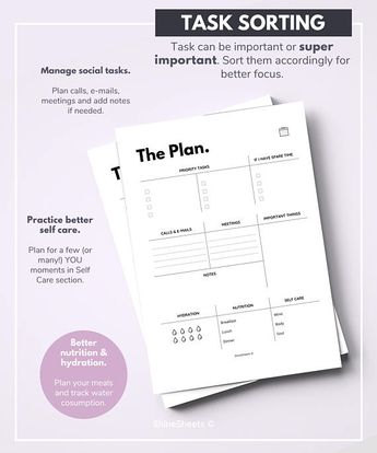 Monthly Planner Printable Monthly Calendar Planner Mont