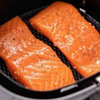 Air Fryer Salmon | Plated Cravings